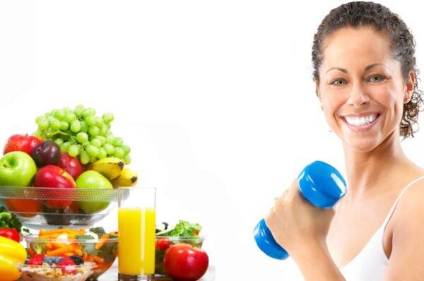 Ejercitarse con una buena alimentación