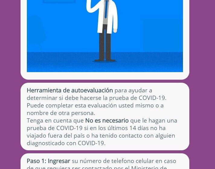 Colegio de Médico del Perú: lanza aplicativo de evaluación virtual para despistar el COVID-19