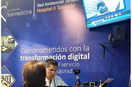 Asegurados de Essalud Tarapoto ya reciben atención de Telemedicina
