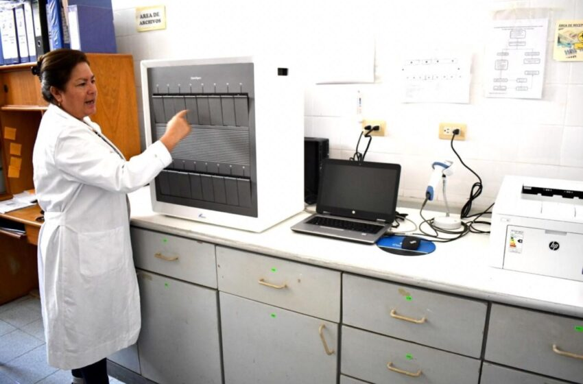 Lambayeque: Dispone de equipo para procesar pruebas moleculares de Covid-19 en una hora